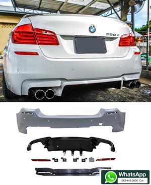 BMW F10 '10-17' M5 LOOK REAR BUMPER SKIN