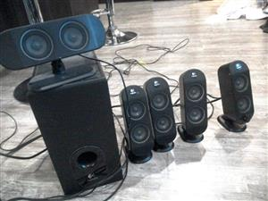 Logitech speakers 5.1
