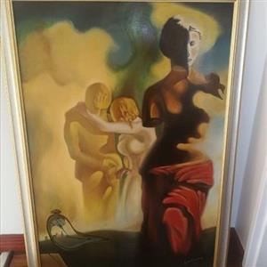 Dali inspired original art