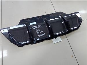 BMW F12 6SERIES CARBON REAR DIFFUSER