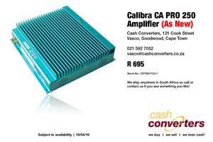 Calibra CA PRO 250 Amplifier (As New)