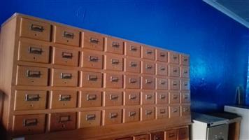 45 drawer unit