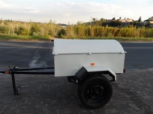 Lockable Secure Trailer