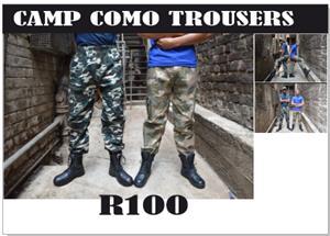 CAMP CAMO PANTS