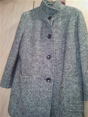 Mixed cotton coat