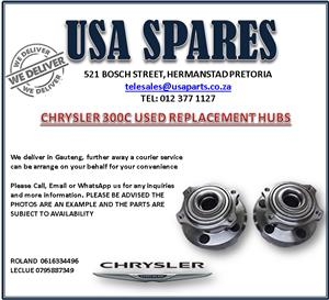 CHRYSLER 300C USED REPLACEMENT HUBS