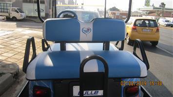 Golf cart seats