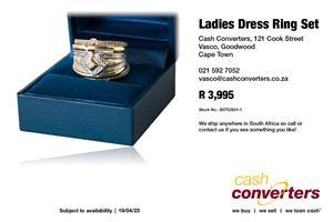 Ladies Dress Ring Set