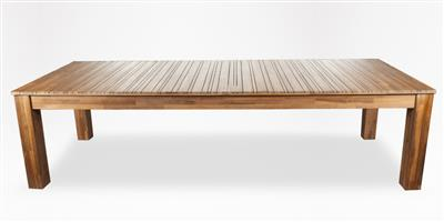 CORICRAFT CASSIA PATIO DINING TABLE NATURAL. BRAND NEW IN BOX. New price on floor R11000