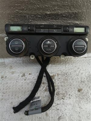 Golf 5 Air Heater AC Control digital Unit Panel, price R500
