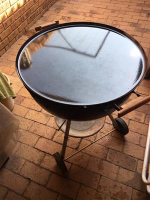 Manturian Griddle for Weber Charcoal Braai