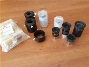 Telescope eyepieces + filter sets