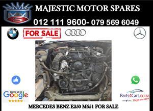 Mercedes benz E250 M651 engine for sale