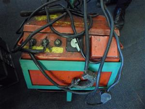 Oil Welder on Trolley
