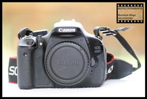 Canon EOS 600D - Body Only