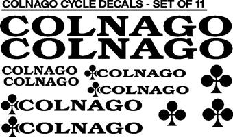 Colnago bicycle frame decals stickers graphics kits