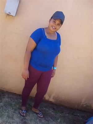 Lesotho maid/nanny/cleaner with refs needs work for stay in