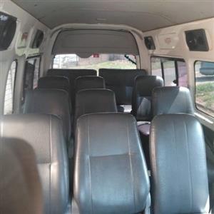 2008 Toyota Quantum 2.7 GL 14 seater bus