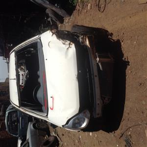 Stripping Ford Figo 2012 for Spares