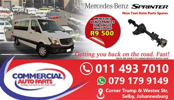 Single Diff For Mercedes Benz Sprinter 308 For Sale.