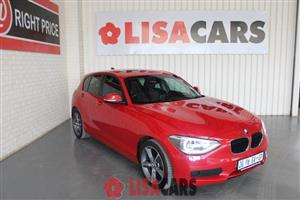 2015 BMW 1 Series 116i 5 door