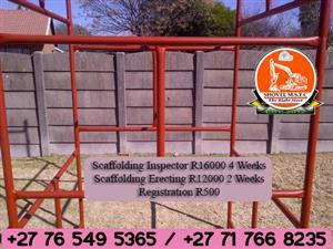 Scaffolding Erector and Inspector Training SHOVEL MULTI SKILLS TRAINING CENTRE +27145929860 +27734470170 Rustenburg