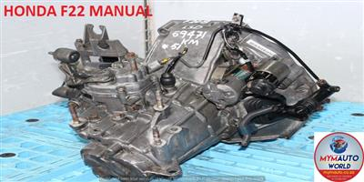 IMPORTED USED HONDA F22 MANUAL GEARBOX FOR SALE AT MYM AUTOWORLD