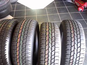 265/65/17 brigestone dueller 4x new tyres all terrain 693 r5999