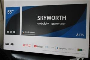 "SKYWORTH ANDRIOD 55"" TV"