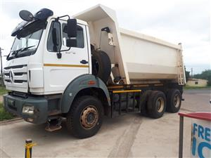 10m3 Tipper truck for hire