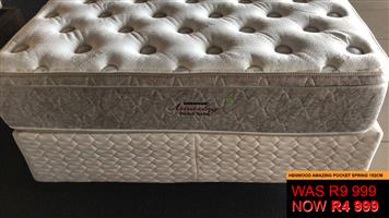 Stock clearance, shop soiled Premium Mattress & Base sets these prices will never be repeated