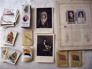 Collecting Cigarette Cards, Coin Sets, Old Bank Notes?