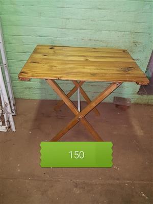 Hout pallet opvou tafeltjie Te koop