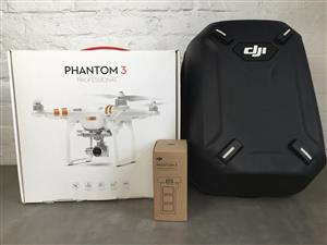 DJI Phantom 3 professional starter bundle