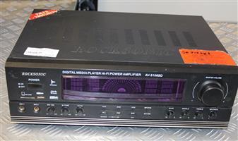 Rocksonic house interior amplifier no remote S031228A #Rosettenvillepawnshop