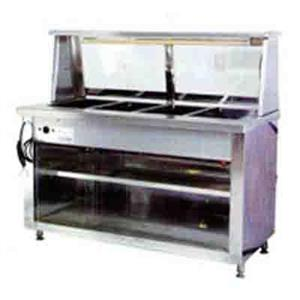 Bain Marie 4 Division Floor Model Electric