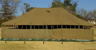 5m x10m Army Canvas Tent