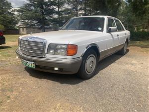 1987 Mercedes Benz 300SE