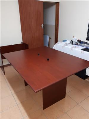 Meeting Table with built in USB Chargers