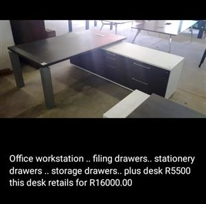 Office workstation. Valued R16000 pay R5500