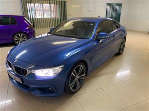2017 BMW 4 Series coupe 420i COUPE M SPORT A/T (F32)