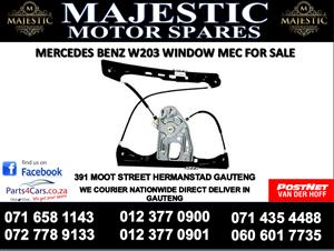 Mercedes benz w203 window mechanism for sale