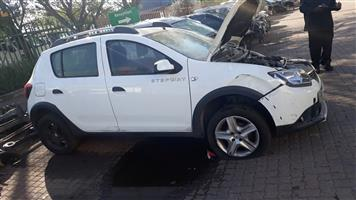 RENAULT SANDERO STEPWAY  SPARES FOR SALE