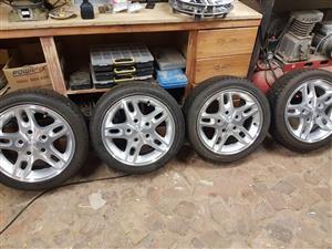 Jeep Rims en tyres