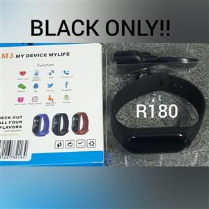 Black smart watch for sale