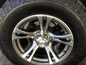 Mag wheels and tyres