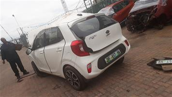KIA PICANTO STRIPPING FOR SPARE PARTS