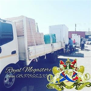 Plastic Tables, Tents, Chairs,Mobile Freezer, VIP Toilets