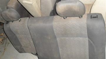 2002 opel astra rear seat
