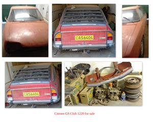 I have a Citroen GS 1220 Glub +- 1976 for sale
